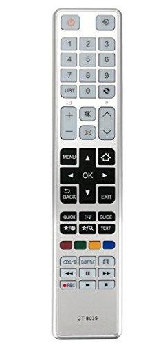 Vinabty Nuevo CT-8035 CT8035 TV de Control Remoto para Toshiba 32D3453DB 32W3453DB 40L3451DB 40L3453DB 40L3455DB 32D3453DB 40L3453DB 32W3451DB 32D3453DB