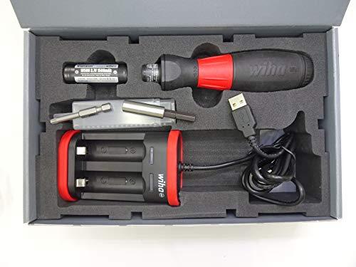 Wiha 43631 Elektrischer Schraubendreher, 12.6 W, 240 V, Rot Schwarz, 5 Tlg