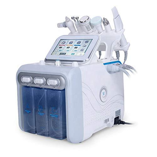 ACCDUER Wasserstoff Sauerstoff-Schönheits-Maschine, 6 in 1 Hydra Dermabrasion Skincare Oxygen Facial Beauty Maschine Sauerstoff Jet Pore Mitesser Klar Facial Beauty Maschine