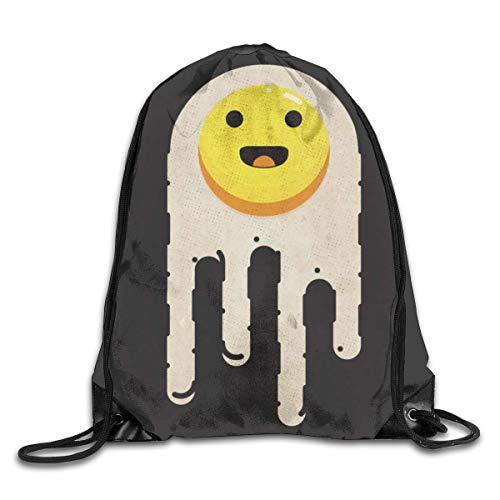 Paquete de mochilas de gimnasio con cordón, bolsas de glaseado con sonrisas...