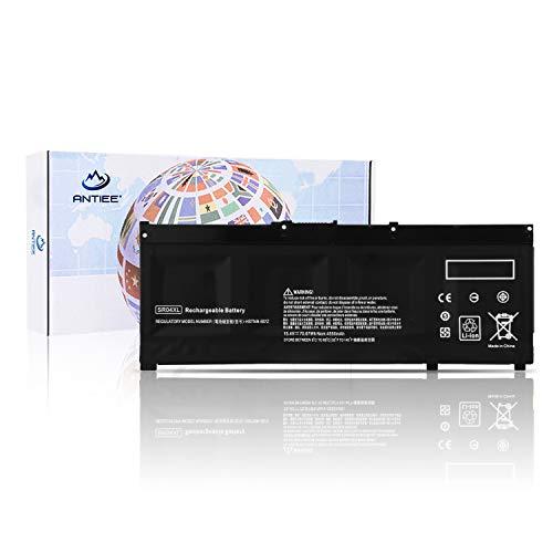 ANTIEE SR04XL Akku für HP 917678-1B1 917678-2B1 917724-855 HSTNN-DB7W HSTNN-IB7Z TPN-Q193 Omen 15-ce000 Pavilion Power 15-cb000 15-cb500(15.4V 4550mAh/70.07Wh) Notebook
