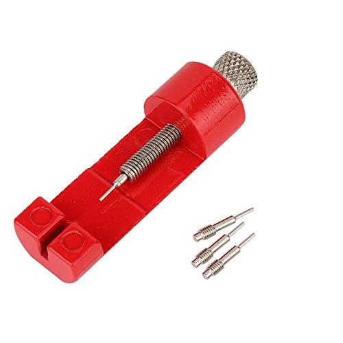 Herramienta para quitar la correa Quita la correa del reloj Ligero con material metálico(red)