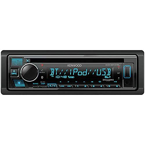 Kenwood KDC-BT378U Bluetooth Car Stereo Receiver with CD Player, SiriusXM Ready