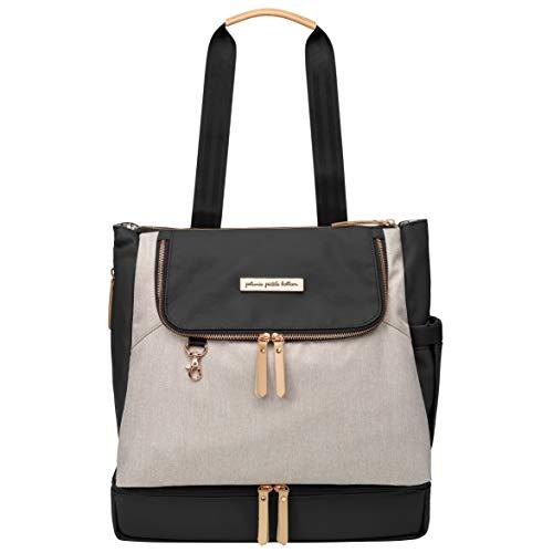 Petunia Pickle Bottom Pivot Backpack, Sand/Black