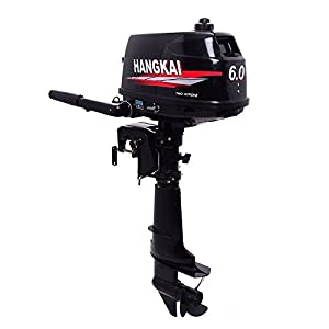 OUKANING 6PS Outboard Motor 2Stroke Outboard Motor Car Motor Boat Engine