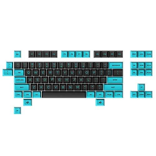 Massdrop x MiTo SA Pulse TKL Keycap-Set für Tenkeyless-Tastaturen, kompatibel mit Cherry MX-Schaltern und Klonen Standard (92-Schlüssel)