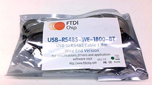 FTDI Chip USB to RS485シリアルコンバータケーブル USB-RS485-WE-1800-BT