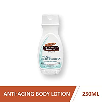 Palmers Cocoa Butter Anti Ageing Skin Smoothing Lotion with Alpha/Beta Hydroxy Bottle, 250 ml