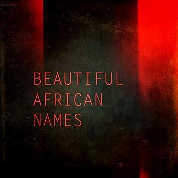 Beautiful African Names