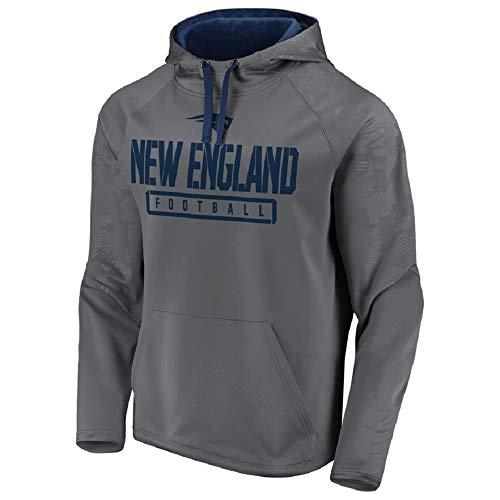 Fanatics NFL Hoody New England Patriots Kaputzenpullover Pulli Monochrome Football Hooded Sweater (S)