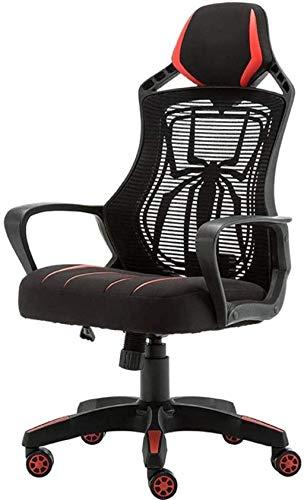 YONGYONGCHONG Silla de oficina para juegos, silla de oficina con respaldo alto y corazón, silla de oficina, silla de carreras, silla giratoria para computadora, silla de ocio y deportes electrónicos