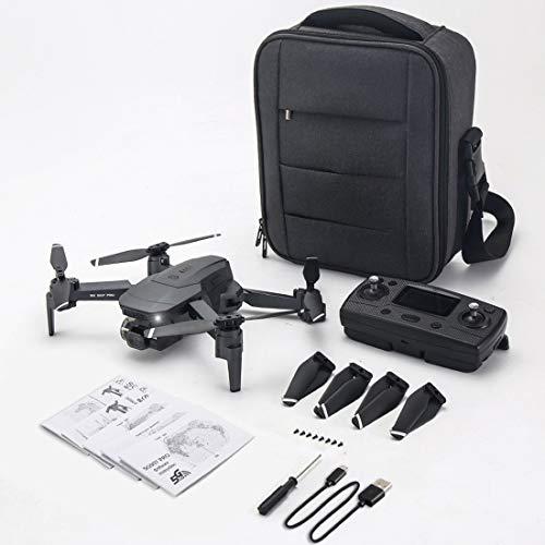 ZLL SG907 Pro Drone con estabilizador de cardán de 2 Ejes 4K HD Cámara Drone Profesional 5G WiFi Cámara Dual Quadcopter GPS Drone (with Bag)