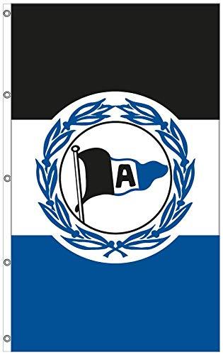 DSC ARMINIA BIELEFELD Hissfahne Wappen 250x150cm
