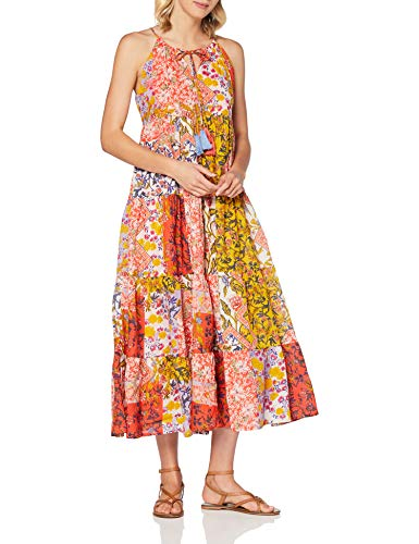 Derhy Damen CADUCEE Kleid, Rot (Rouge 7), 38