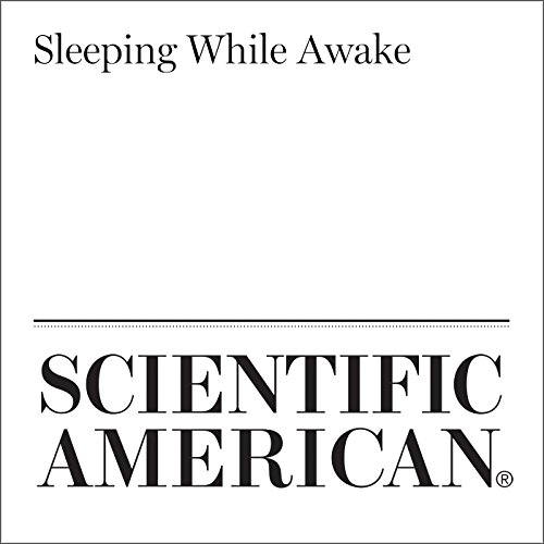 Sleeping While Awake audiobook cover art