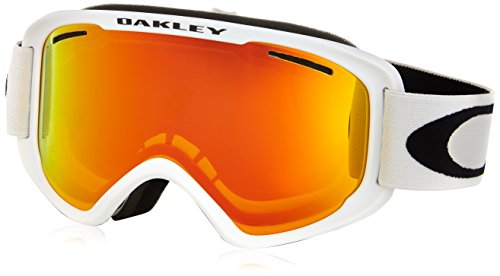 Oakley Uni Skibrille O2 XM Injected Unisex Google, MATTE WHITE, EL. ADJUSTABLE