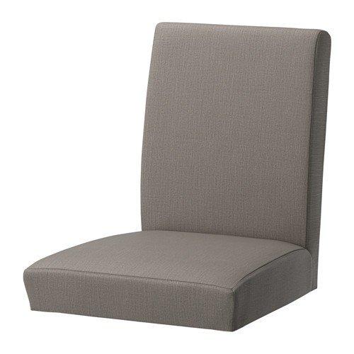 Ikea HENRIKSDAL Stuhlbezug Nolhaga graubeige