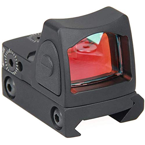 Moomax Tactical RMR Red Dot Sight,20mm Mount Pistol Handgun Shunting Red Dot,2 MOA Adjustable Reflex SightPistol Scope,Battery Not Includes
