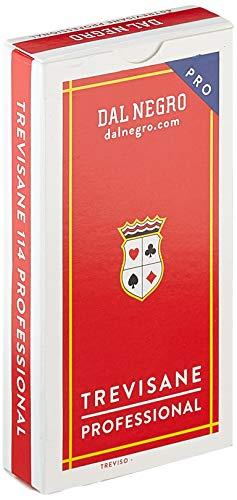 Dal Negro Trevisane Carte da Gioco Regionali, Astuccio Rosso, Colore, 15005