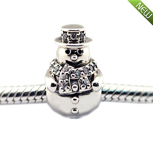 PANDOCC 2016 Winter - Kollektion klare cz perlen passt Pandora reize armbänder original Silber 925 Charme perlen für schmuck herstellung