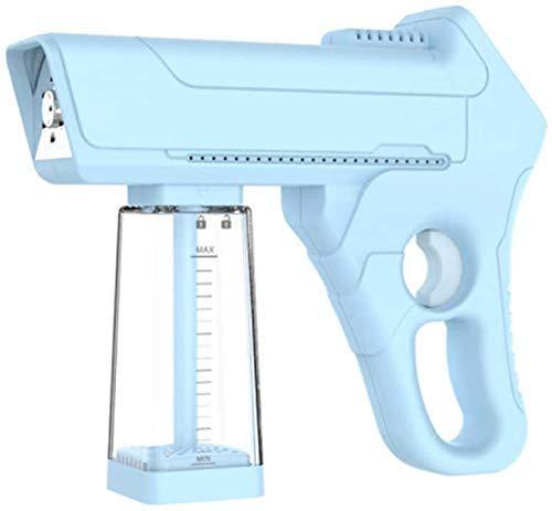 Qiutianchen Sprayer Electric Nano-Taschenpistole für Heimbüroauto für Hochtemperatur-Dampfdesinfektion und Blaue Haarpflege, (Color : Blue)
