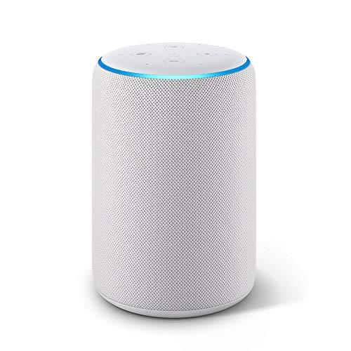 Echo Plus (2ª generazione) - Hub per Casa Intelligente integrato e suono di ottima qualità - Tessuto grigio chiaro