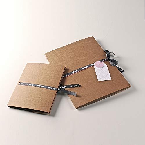 Papieren map voor foto's en CDS. Maak je cadeau iets unieks - 50 stuks M