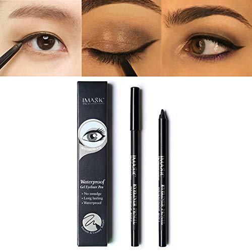 Crayon Eyeliner Imperméable Super Slim Liquide Eyeliner Gel Doublure Pour Les Yeux Noir Naturel Gel Crayon Longue Durée