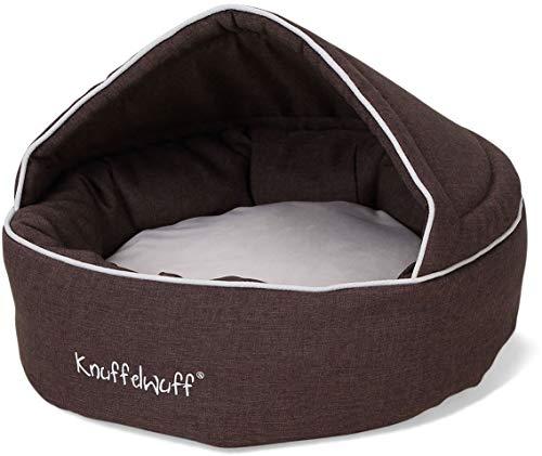 Knuffelwuff 13103 Höhlenbett Pumbaa - Größe Durchmesser 55 cm, braun
