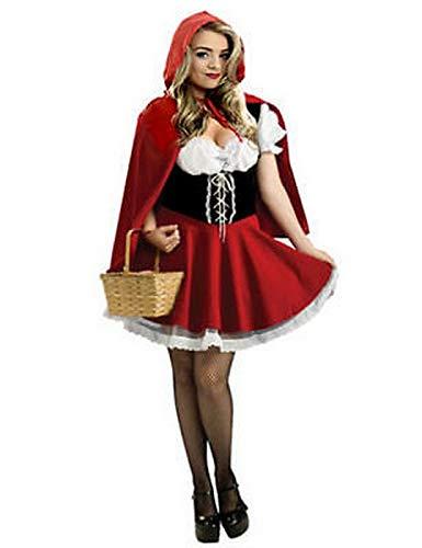 Forever Young - Disfraz de Caperucita Roja para mujer