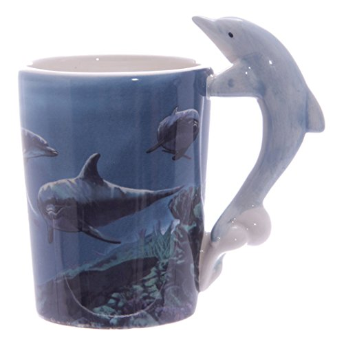 Le mug à anse dauphin