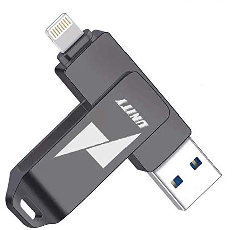 Unity 32GB USB Flash Drive for iPhone iPad USB 3.0 Memory Stick Extension Flash Drive USB Storage for iPhone iPad iOS Android Smartphone Tablet PC Macbook 4 in 1