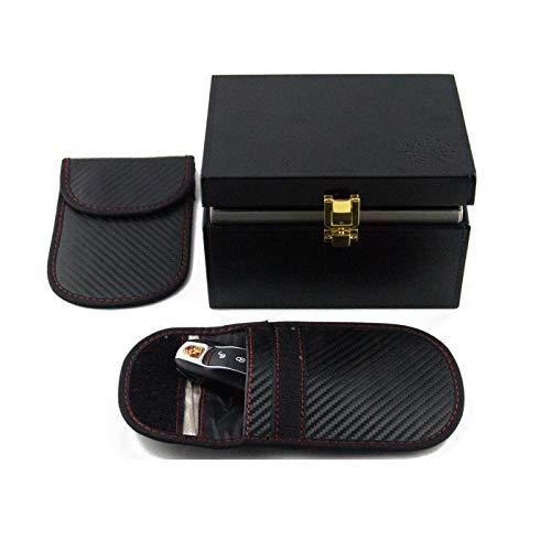 BREND RFID antidiefstal autosleutel bescherm box + RFID 1x beschermhoes, Keyless Entry, Anti diefstal, Signaalblocker