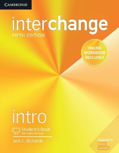 Interchange Intro - Student´s Book With Online Workbook - 05 Edition