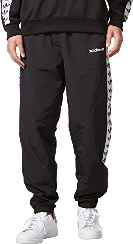 adidas Herren TNT Tape Wind P Sweatshirt, Black/Negro/Blanco, Large