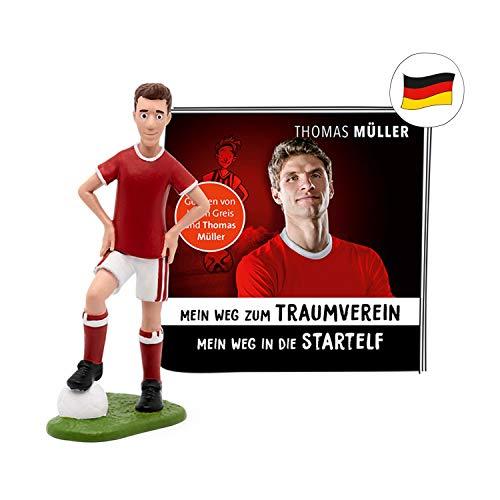 tonies Hörfiguren für Toniebox - Thomas Müller von Bayern München -Mein Weg zum Traumverein - ca. 27 Min. - Ab 6 Jahre -DEUTSCH