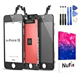 NuFix LCD Replacement for Apple iPhone 5S / 5SE Screen Glass LCD Display