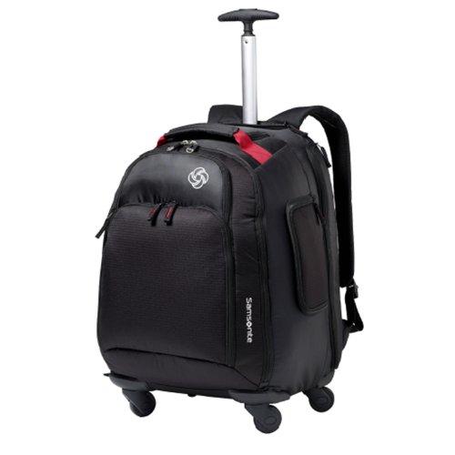 Samsonite Luggage Mvs Spinner Backpack, Black