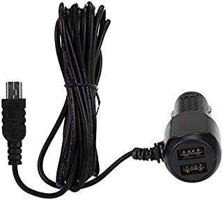 2A DC Car Charger Power Adapter For Garmin Dash Cam 10 #010-01311-01 HD Recorder
