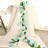 GIAO Selbst Gemachte Dekoration Der Künstlichen Blume Rebe Sakura Klimaanlage Rebe Wandbehang...
