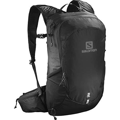 Salomon Unisex Trailblazer 10 Rucksack Wandern, Schwarz, Einheitsgröße