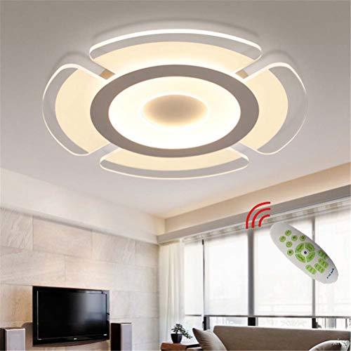 Lámpara de Techo LED Lámpara de Sala Luz de Techo Regulable Moderna con Control Remoto, Lámpara Plafón Decoración de Sala de Estar, Decoración de Dormitorio Iluminación Lámpara de Comedor