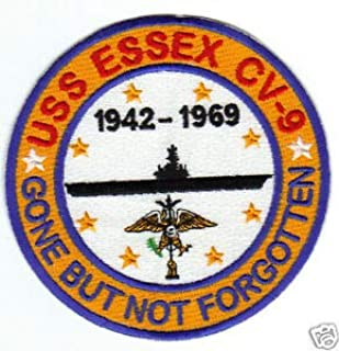 USS Essex Patch, CV-9, 1942-1969, Gone BUT NOT Forgotten Y by HighQ Store