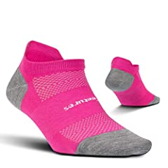 Ultra Light High Performance Socks: These durable, lightweight mens socks and womens socks are perfect for every athlete, use them as running socks, hiking socks, and cycling socks Mens and Womens Socks with Support: Athletic socks made with superior...