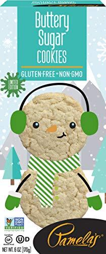 Pamela's Gluten-Free Cookies, 6 OZ (Buttery Sugar, Pack - 1)