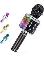 Karaoke Microphone Wireless Blueteeth Remix 5 in 1 Portable Speaker Machine
