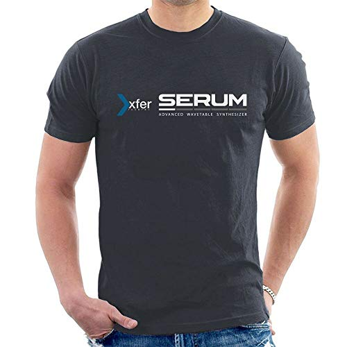 Xfer Serum Mens T-Shirt Advanced Wavetable Synthesizer Dark Grey L