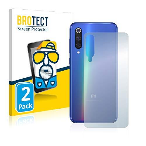 BROTECT 2X Entspiegelungs-Schutzfolie kompatibel mit Xiaomi Mi 9 SE (Rückseite) Bildschirmschutz-Folie Matt, Anti-Reflex, Anti-Fingerprint