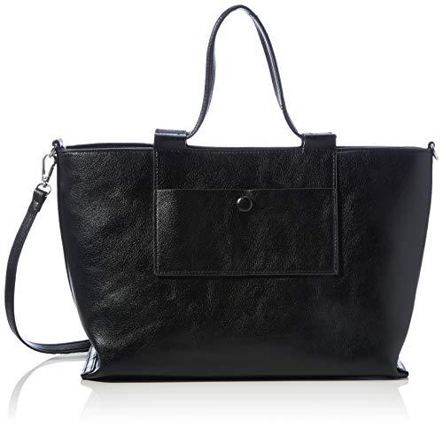 PIECES PCROLISA Daily Bag, Bolsa de Noche para Mujer, Black, Einheitsgröße