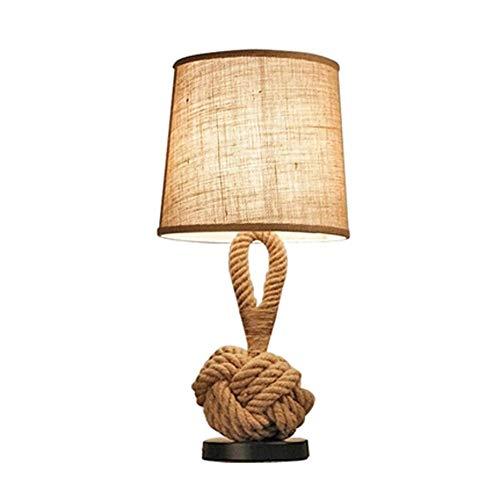 Lámpara de mesa SWNN Lámpara De Escritorio Estudio Simple Moda Estadounidense Sala De Estar Sala De Modelo De Lámpara De Noche Creativa Personalidad Bramante Dormitorio Princesa 28 * 58cm